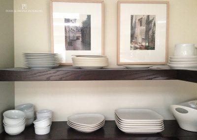 Sabaka kitchen shelves