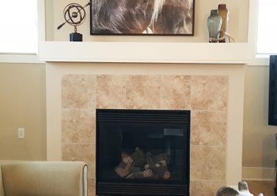KCondo Fireplace detail