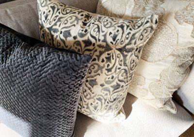 BG pillow detail